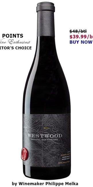Westwood Pinot Noir Winemaker Philippe Melka