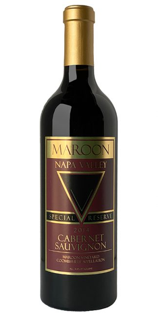 2014 MAROON SPECIAL RESERVE COOMBSVILLE CABERNET SAUVIGNON