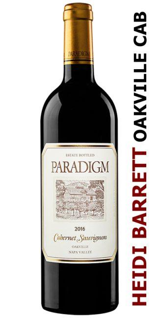 2016 PARADIGM OAKVILLE ESTATE CABERNET SAUVIGNON
