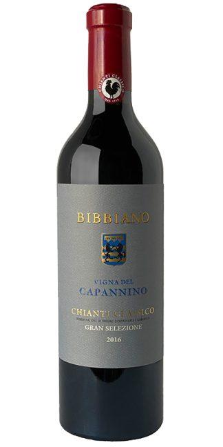 2016 BIBBIANO VIGNA DEL CAPANNINO GRAN SELEZIONE CHIANTI CLASSICO