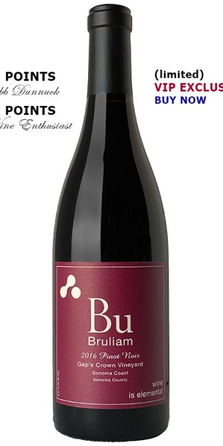 2016 BRULIAM GAP'S CROWN VINEYARD PINOT NOIR