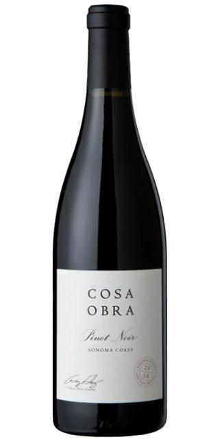 2016 COSA OBRA SONOMA COAST PINOT NOIR