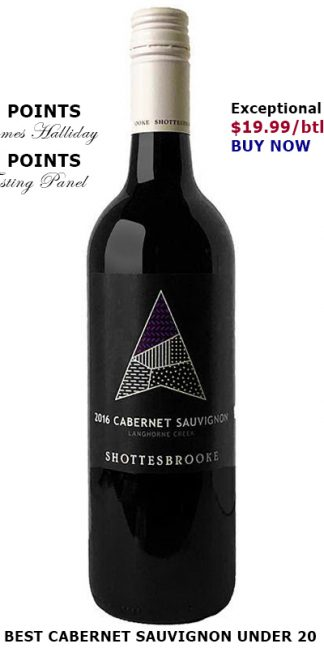BEST CABERNET SAUVIGNON UNDER 20
