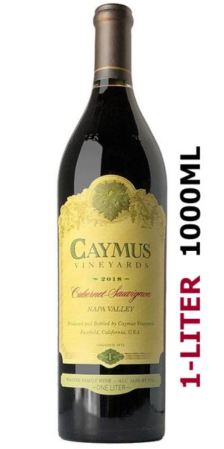 CAYMUS 1 LITER 2018 NAPA VALLEY CABERNET SAUVIGNON 1000ML