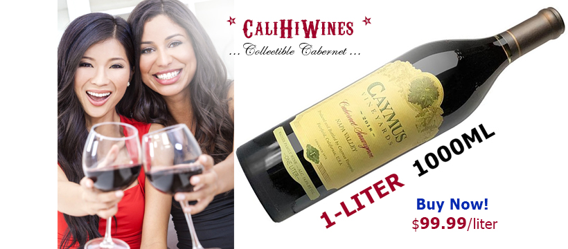 Caymus 1 Liter Cabernet 2018 Napa Cult Wine
