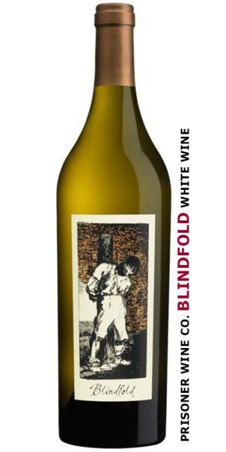 PRISONER WINE CO. BLINDFOLD WHITE WINE