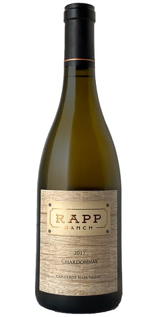 2017 RAPP RANCH NAPA VALLEY CHARDONNAY