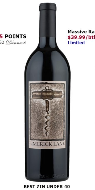 2018 LIMERICK LANE RUSSIAN RIVER VALLEY ZINFANDEL