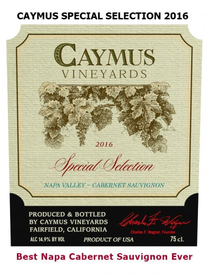 CAYMUS SPECIAL SELECTION 2016