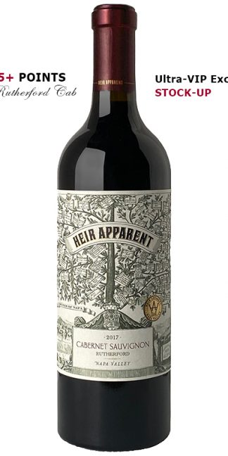 HEIR APPARENT 2017 RUTHERFORD CABERNET SAUVIGNON NAPA VALLEY