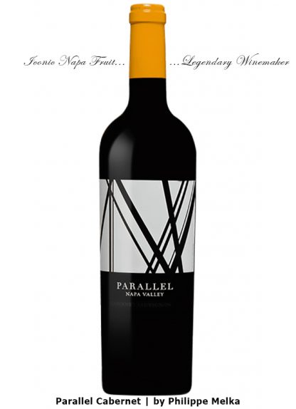 2017 PARALLEL NAPA VALLEY CABERNET WINEMAKER PHILIPPE MELKA
