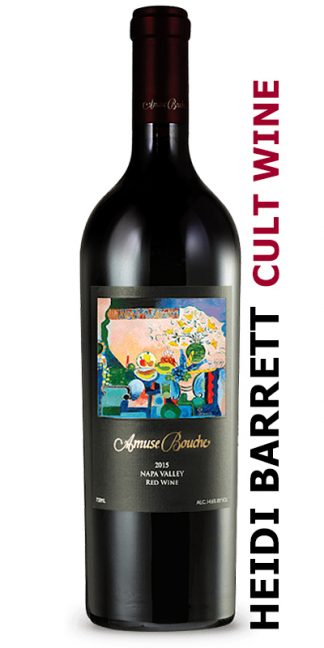 2015 AMUSE BOUCHE NAPA VALLEY RED WINE WINEMAKER HEIDI BARRETT