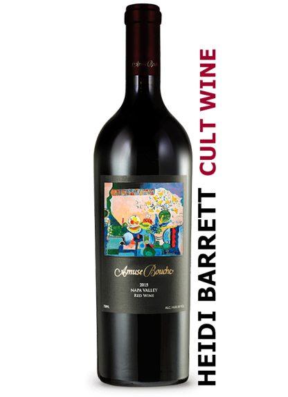 2015 AMUSE BOUCHE NAPA VALLEY RED WINE WINEMAKER HEIDI BARRETT