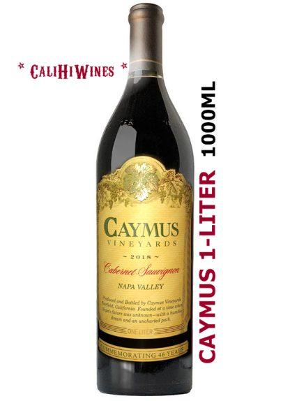 CAYMUS CABERNET 2018 1-LITER NAPA VALLEY CABERNET SAUVIGNON 1000ML