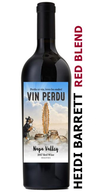 VIN PERDU PROPRIETARY RED BLEND WINEMAKER HEIDI BARRETT