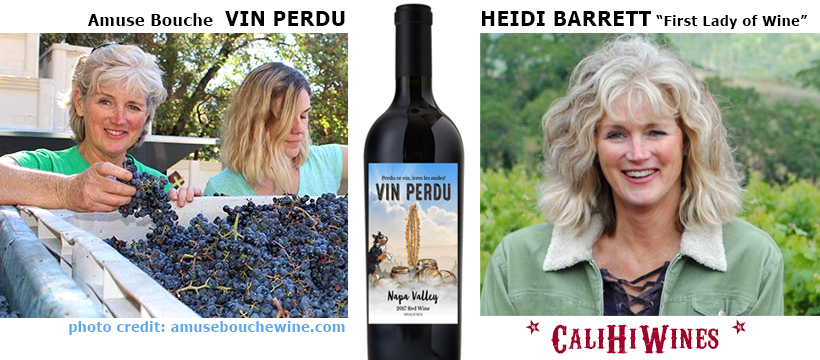 Vin Perdu Napa Valley Red Wine by Heidi Barrett