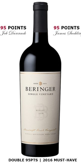2016 Beringer Bancroft Ranch Best Howell Mountain Wines