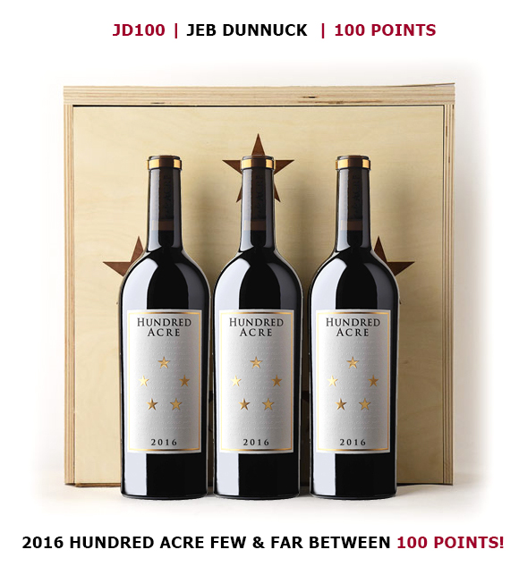 2016 Hundred Acre 100 Point Wine