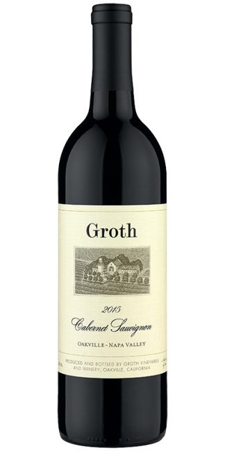 GROTH OAKVILLE CABERNET 2015 NAPA VALLEY