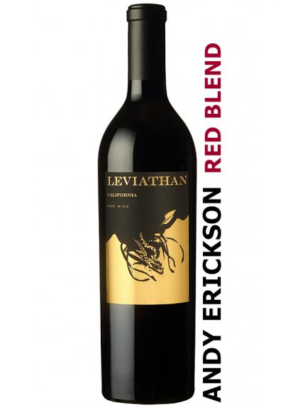 LEVIATHAN RED BLEND 2018 BY WINEMAKER ANDY ERICKSON