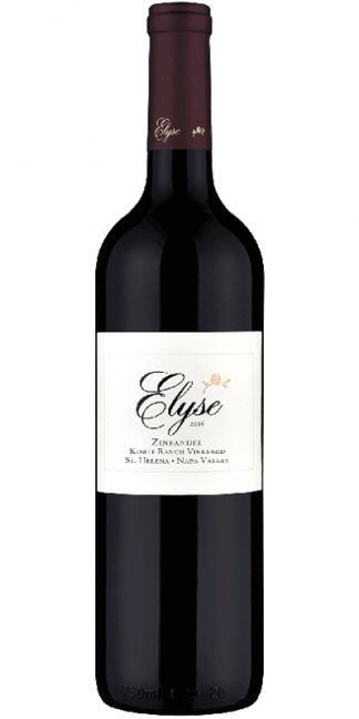 2016 ELYSE ZINFANDEL KORTE RANCH VINEYARD, ST. HELENA NAPA VALLEY