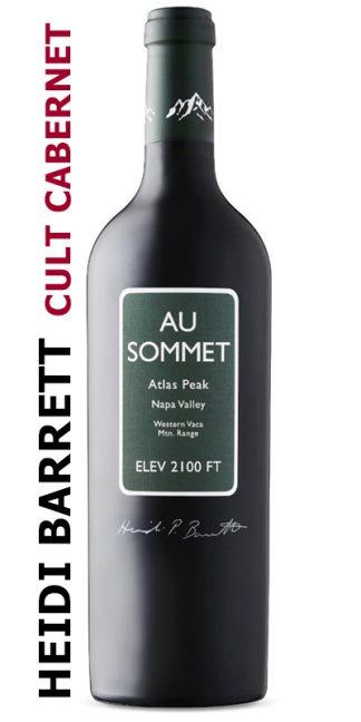 2016 AU SOMMET CABERNET SAUVIGNON BY HEIDI BARRETT, ATLAS PEAK, NAPA VALLEY