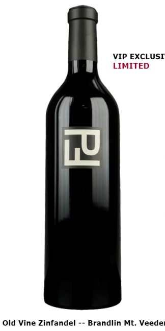 2016 PETER FRANUS BRANDLIN VINEYARD MOUNT VEEDER ZINFANDEL