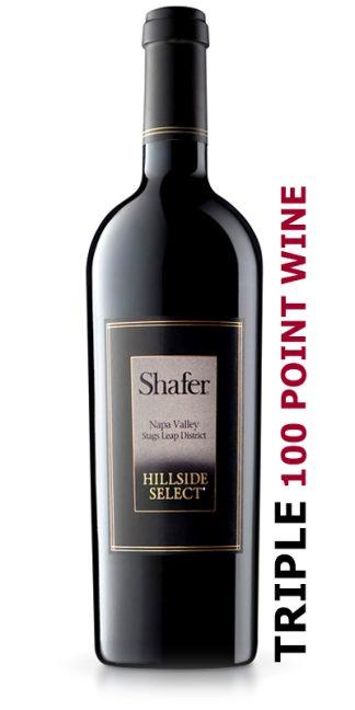 2016 SHAFER HILLSIDE SELECT CABERNET SAUVIGNON 100 Point Wine