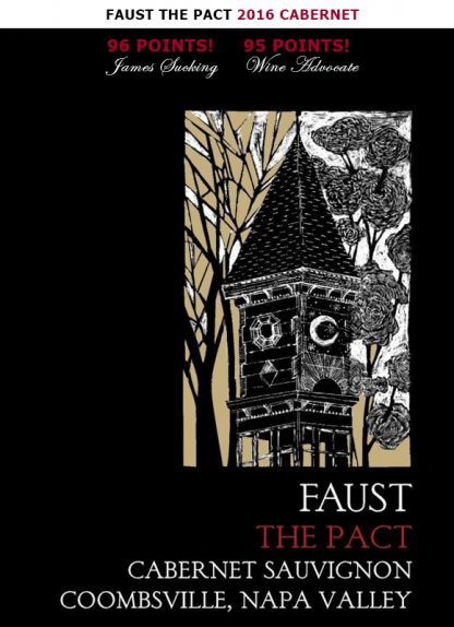 FAUST THE PACT 2016 CABERNET NAPA VALLEY