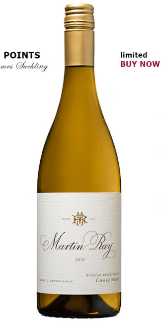 2019 MARTIN RAY DUTTON RANCH VINEYARD CONCRETE FERMENTED CHARDONNAY