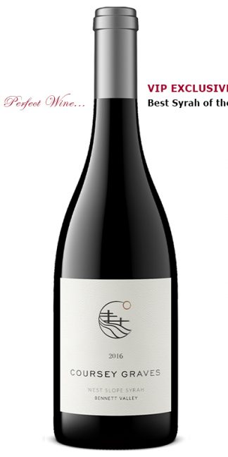 2016 COURSEY GRAVES WEST SLOPE BEST SYRAH