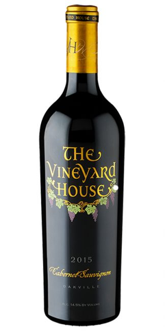 2015 THE VINEYARD HOUSE OAKVILLE ESTATE CABERNET SAUVIGNON