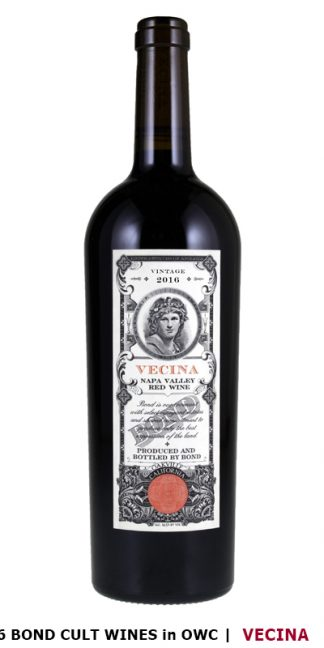 2016 BOND VECINA 100 POINT WINE 3-Pack OWC