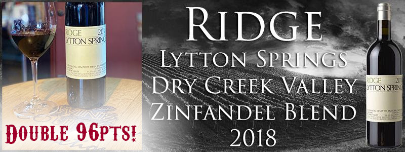 2018 RIDGE LYTTON SPRINGS PROPRIETARY RED WINE