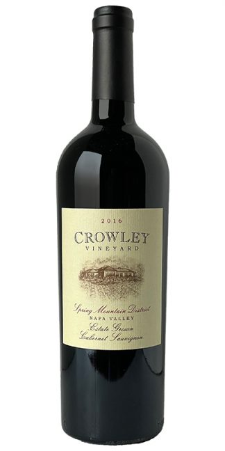 2016 CROWLEY VINEYARD SPRING MOUNTAIN DISTRICT CABERNET SAUVIGNON