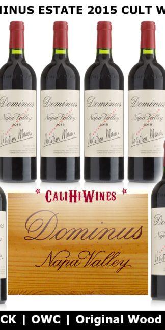 2015 Dominus Estate OWC Original Wood Case 6-pack