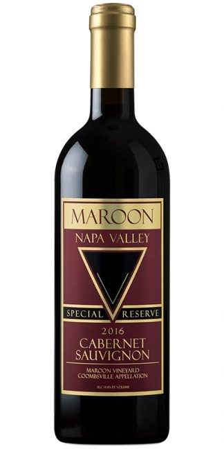 2016 MAROON SPECIAL RESERVE COOMBSVILLE CABERNET SAUVIGNON