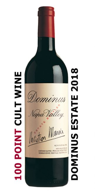 2018 Dominus Estate 100 Point Cult Wine
