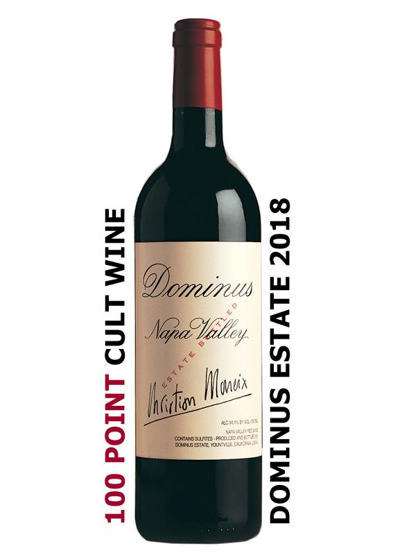 2018 Dominus Estate 100 Point Cult Wine
