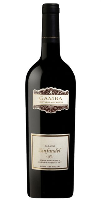 2019 GAMBA STARR ROAD RANCH OLD VINE ZINFANDEL