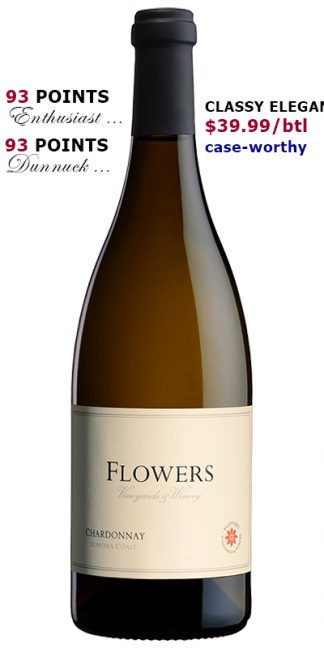 2018 FLOWERS SONOMA COAST CHARDONNAY
