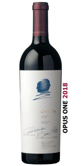 OPUS ONE 2018 NAPA VALLEY CULT WINE